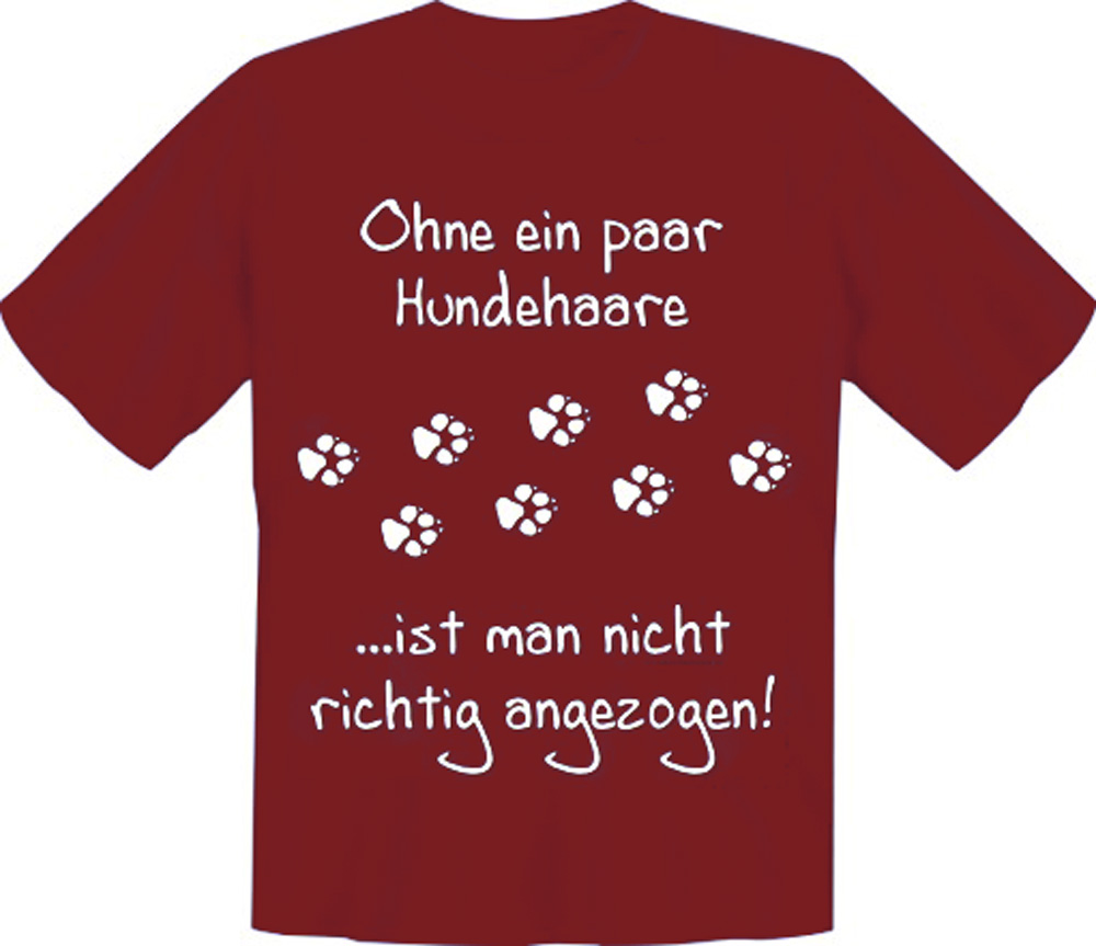 t shirt ohne ein paar hundehaare s xxl hund hunde ebay. Black Bedroom Furniture Sets. Home Design Ideas